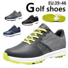 Outdoor, golfshoesmen, Waterproof, professionalgolfshoe