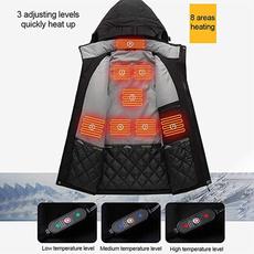 Jacket, heatedjacket, Coat, usb