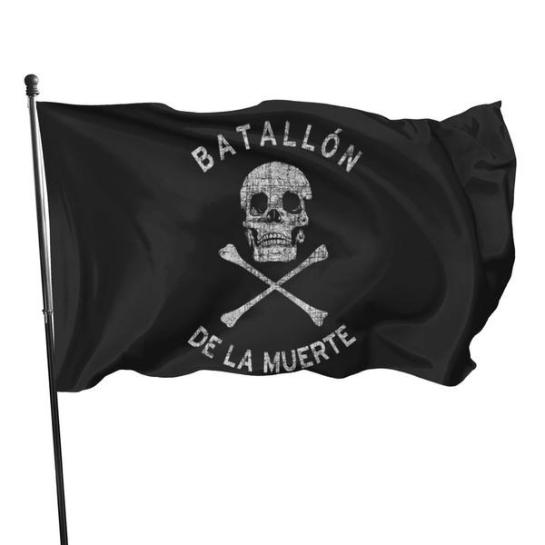 fadedanarchistskullandflagbanner, skull