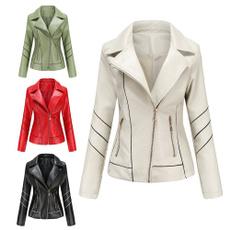 Jacket, Coat, Winter, leather
