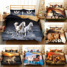 horse, kingsizebeddingset, Home Decor, animal print