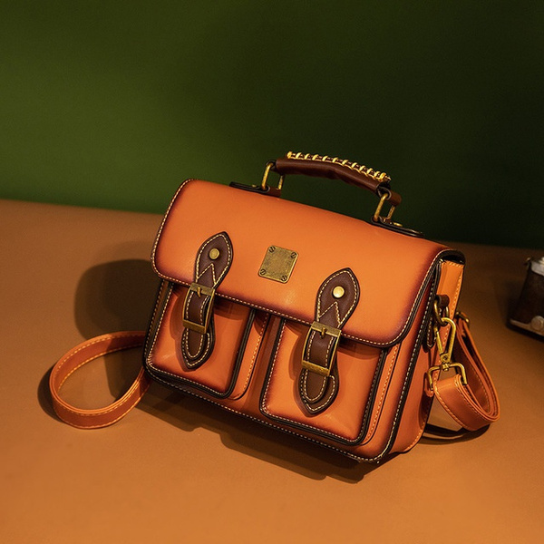 Capacity, retroladieshandbag, leather, leather bag