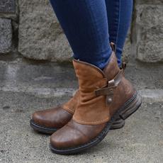 ankle boots, Fashion, Winter, flatheelboot