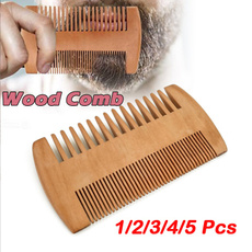 Wood, Combs, woodcomb, portable