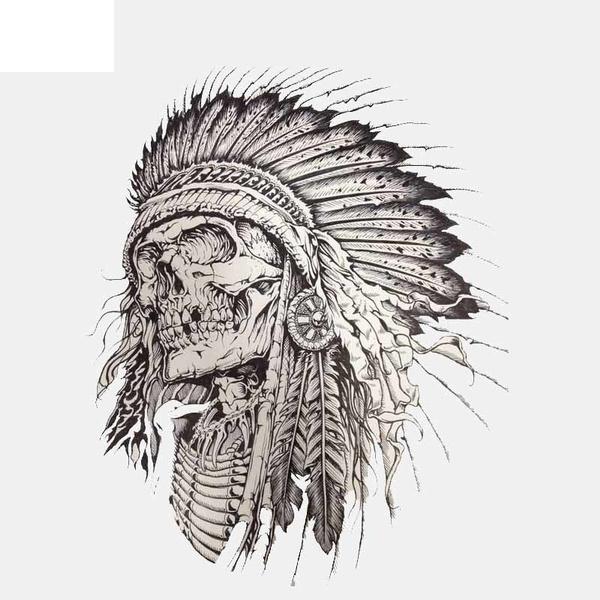 Car Sticker, Head, luggagesticker, skull