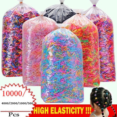 Rope, colorfulhairband, disposablerubberband, Elastic