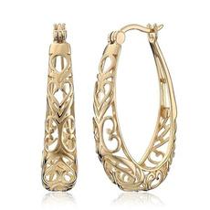 Jewelry, gold, Stud Earring, 18 k