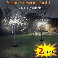 Outdoor, solarlawnfireworklight, Garden, gardenfireworklight