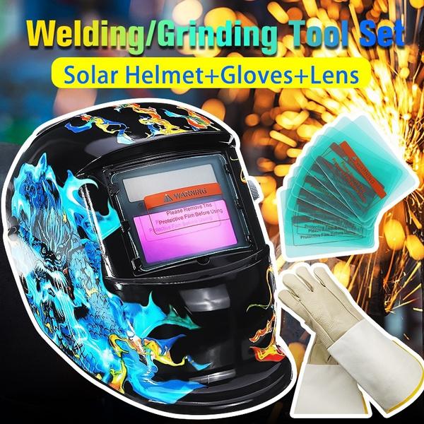 Helmet, Wool, Shades, weldinghelmetmask