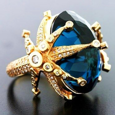 Blues, Engagement, Star, Jewelry