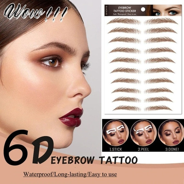 tattoo, fakeeyebrow, Beauty, Waterproof