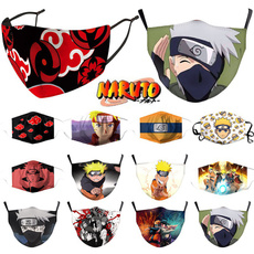 cartoonmask, Cosplay, mouth, narutomask