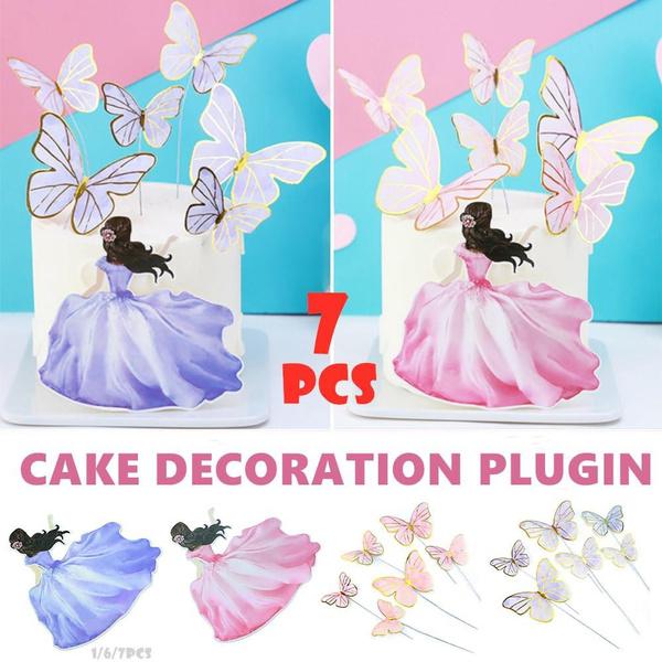 butterfly, happybirthday, birthdaycake, cupcakeflag