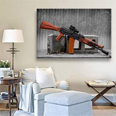 art, Home Decor, pistolaairsoft, Posters