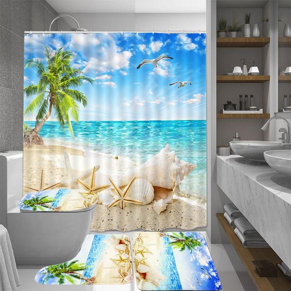 doormat, beachdecor, nonslipmat, toiletmat