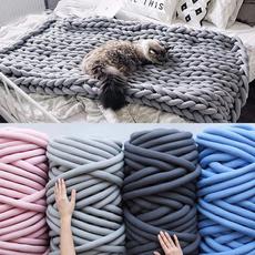 diyknitting, Cotton, Knitting, coarsewool