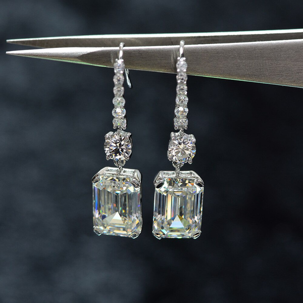 moissanite, Sterling, Jewelry, gold