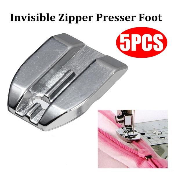 concealedzipper, presser, sewingmachinepartsaccessorie, zipperpresserfootfeet