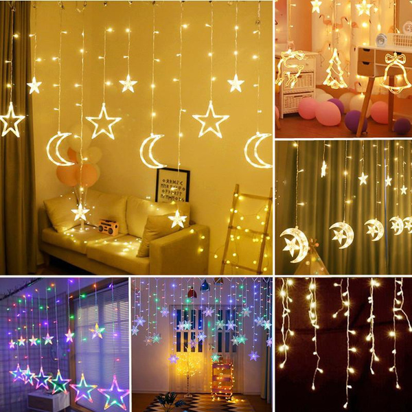 party, christmasfairylight, Outdoor, Star