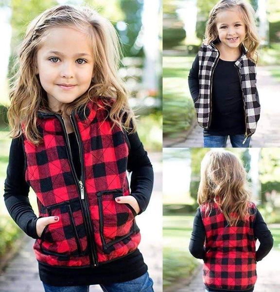 Fashion, cotton-blend, kidszippercoat, Coat