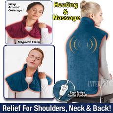 Necks, medicalhealth, massageshawlheating, massagepillow