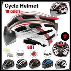 Helmet, lights, Cycling, safetyhelmet