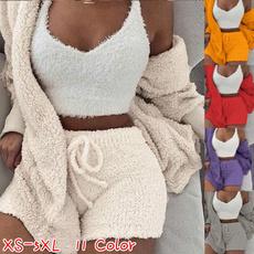 women's pajamas, sleepwearsuit, Shorts, Winter