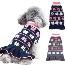 puppy, sweater dress, dogknitsweater, turtleneck