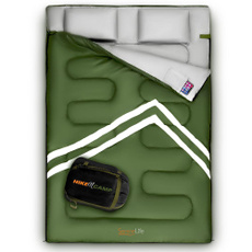 cot, camping, Bags, Double