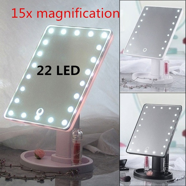 Makeup Mirrors, Makeup Tools, Touch Screen, led