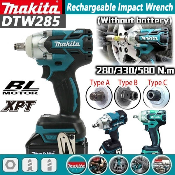 Batteries, Fashion, electricwrench, impactwrench