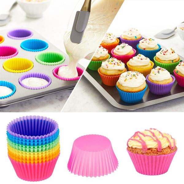 Silicone, bakingtool, Kitchen Accessories, cupcake
