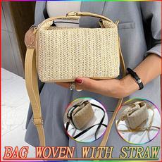 Shoulder Bags, Fashion, strawbag, causalbag