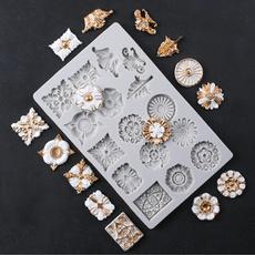 fondantmold, Silicone, patternmold, jewellerymold