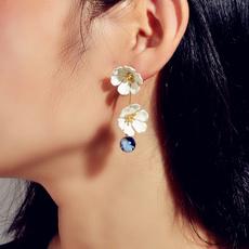 earrings jewelry, Flowers, dressearringfashion, Beautiful Earrings