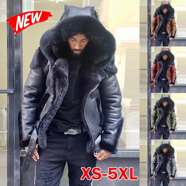 sheepskinjacket, motorcyclejacket, Fashion, fur
