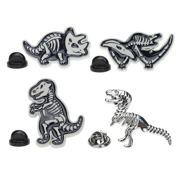 Jewelry, Gifts, Dinosaur, enamelpin