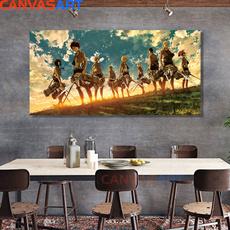 Anime & Manga, art, Home Decor, canvaspainting