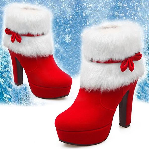 furboot, boots for women, Dress, High Heel