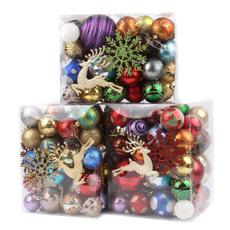 Christmas, coloredball, lights, Tree
