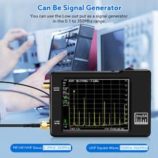antennaanalyzer, Touch Screen, nanovnanetworkanalyzer, nanovnaantennaanalyzer