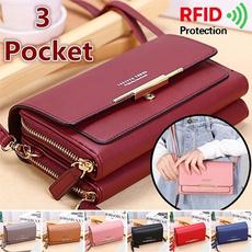 Shoulder Bags, Medium, Wallet, Simple