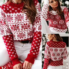 Fashion, Christmas, Sleeve, pullover sweater