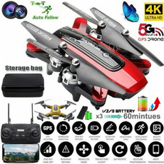 Quadcopter, Remote Controls, Gps, Battery