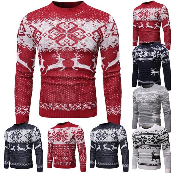 autumnwinter, Fashion, knitted sweater, Deer