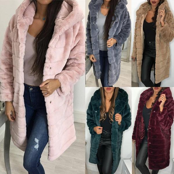 fauxfurcoat, Plus Size, fur, Winter