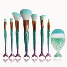 brushes, Beauty, shaped, Makeup