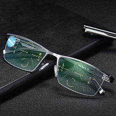 Glasses for Mens, Square, lights, Metal