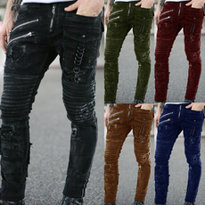 streetcasualstyle, longtrouser, Plus Size, Slim Fit