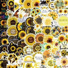 Car Sticker, Sunflowers, Waterproof, youaremysunshine